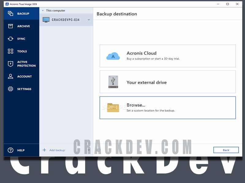 Acronis True Image 2021 Cracked