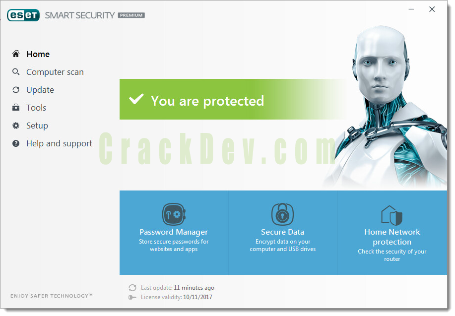 ESET Smart Security Cracked 2021