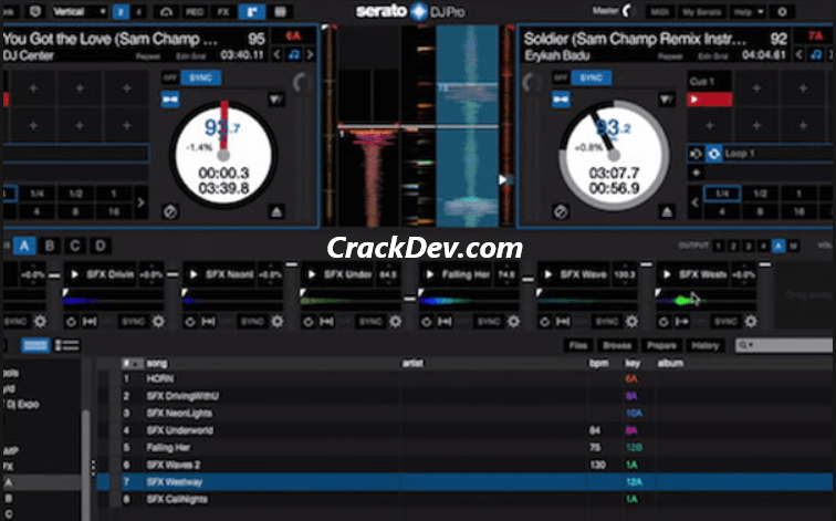 Serato DJ Pro License Key